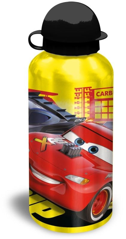 ALU láhev Cars yellow 500 ml