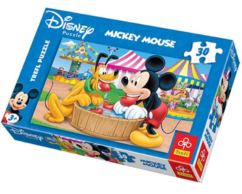 Puzzle Mickey Mouse a Pluto 30